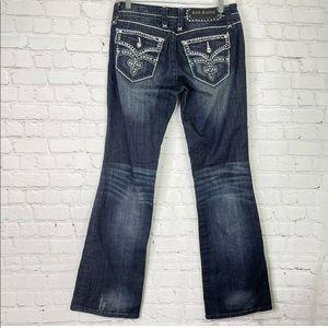 Rock Revival Celine Easy Boot Dark Wash Jeans 28